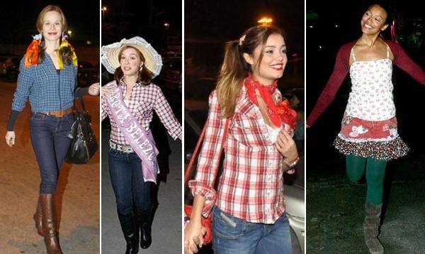 d71c71009 Idéias trajes para festa junina  Roupas caipira das famosas!