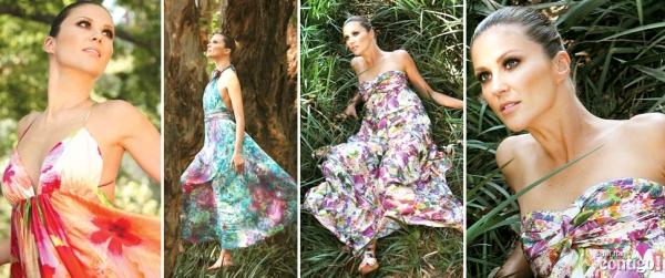 Vestidos Florais... e viva o verão!   vestido floral 0   moda   Vestidos verão 2011 tendência primavera/verão Moda fotos floridos florais Copie o Look