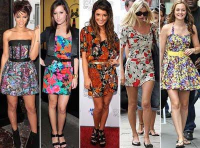 Vestidos florais, viva o verão!   vestido floral 3   roupas moda    Vestidos verão 2011 tendência primavera/verão Moda floridos florais Copie o Look