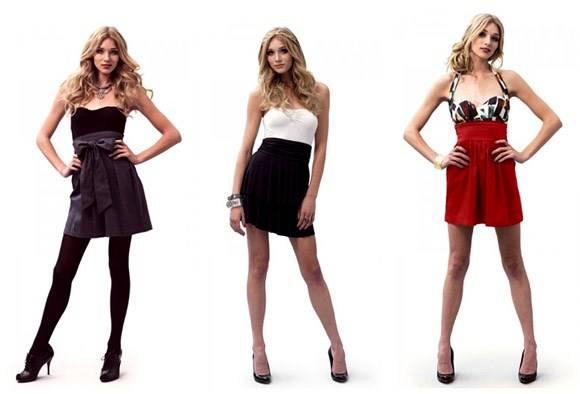 Saias com cintura alta   saia 4   roupas moda    verão 2010 tipos de saias tendência saia tulipa saia evasê saia em A saia curta saia Moda cintura alta
