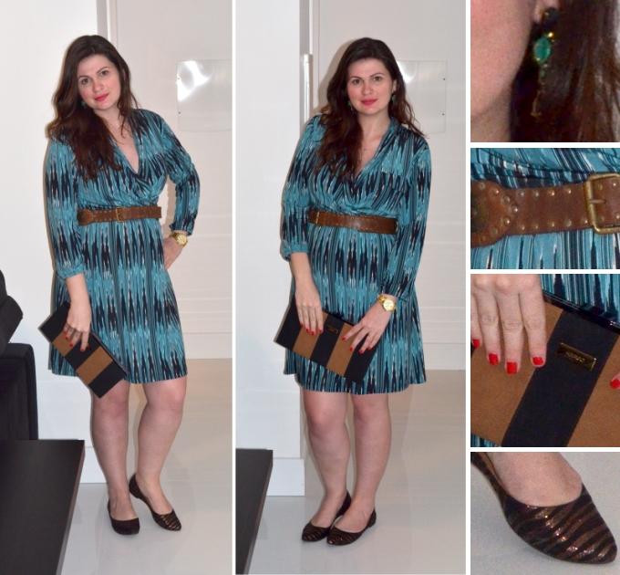 look-gravida-resuminhobasico-liri-vestido-cinto-sapatilha-clutch
